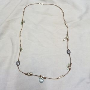 Jewelry - Necklace with clear beads